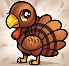 cute thanksgiving turkey drawing. How To Draw Chibi Turkey For Kids Cute Cartoon Pictures Pics Thanksgiving Drawing