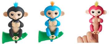 Walmart: WowWee Fingerlings Interactive Baby Monkeys, Finn, Boris ...