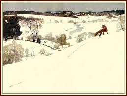 Pin by Jami Hale on Creative Crafts and Images | Nc wyeth, Winter art,  Winter landscape