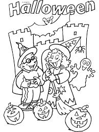 Halloween Kleurplaten