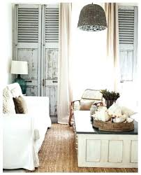 room decorating ideas vintage shutters wall decor small home pertaining to classic decoration plan shutter