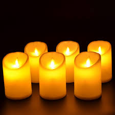 luminara outdoor candles. Plastic Luminara Outdoor Candles