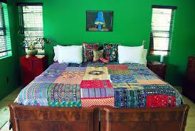 Mexican Bedroom Decor Vintage Bohemian Chic Retro Decor Bedroom Patchwork Mexican