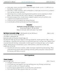 Escort Resume Amazing 8012 Sample Resume Nursing Assistant Escort Resume Nursing Assistant