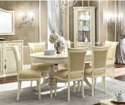 modern italian dining room furniture. Camel Group Torriani Ivory Finish Oval Extension Dining Table Modern Italian Room Furniture