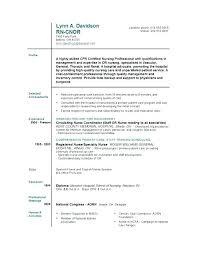 New Grad Nursing Resume Nursing Resume Examples New Grad Registered