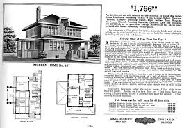 american foursquare floor plan from the sears modern homes mail order catalog modern home no