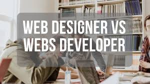 Difference Between Web Design And Web Application Diff Between Web Designer And Web Developer Things 2 Know