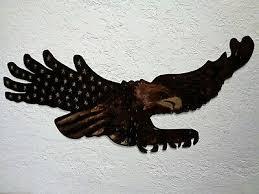 american eagle flag patriotic metal