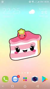 Cute food backgrounds - kawaii ...