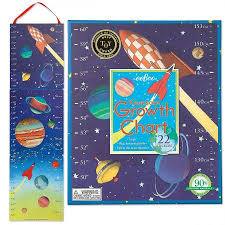 Outer Space Growth Chart By Eeboo