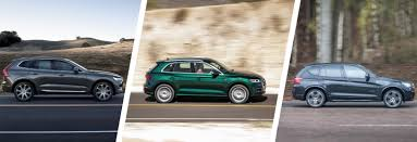 BMW 3 Series xc60 vs bmw x3 : Volvo XC60 vs Audi Q5 vs BMW X3 SUV comparison | carwow