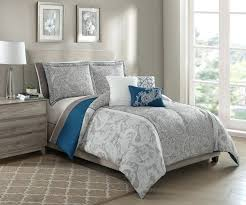 bedspread teal colored queen bedding c and grey solid comforter set twin bed sheets blue size