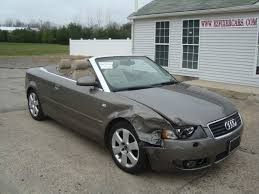 2006 Audi A4 1.8 Turbo Convertible Salvage for sale