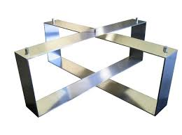 Attractive ... Innovative Metal Coffee Table Base With 12 Best Table Legs Images On  Pinterest ...