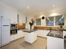 image of luxury u shaped kitchen designs with island