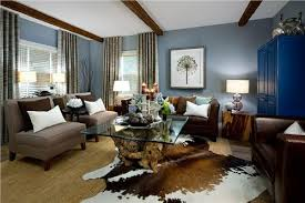 blue walls brown furniture. Soft Blue Combines With Brown Accents Walls Furniture G