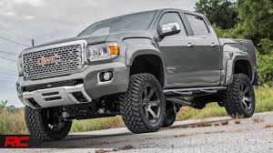 2018 gmc lifted. unique 2018 2018 gmc caynon denali rough country offroad edition cyber gray metallic  vehicle profile in gmc lifted