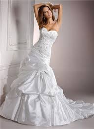 a line sweetheart beaded lace taffeta wedding dress corset back