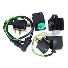110cc chinese atv parts regulator rectifier relay ignition coil cdi chinese atv quad 50cc 70 90cc 110cc