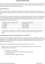 2014 15 Pell Chart Financial Aid Veterans Handbook Pdf Free Download