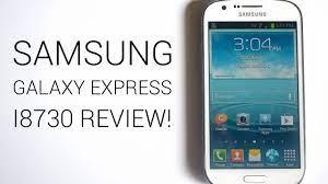 Samsung Galaxy Express I8730 review ...