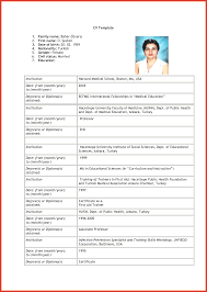C V Application Form Blank Resume For Job Example Of Apply Aa 2 B