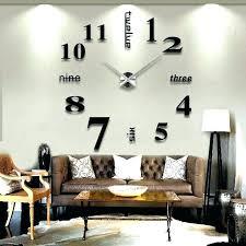 living room clocks extra large wall clocks for clocks black large wall clock extra