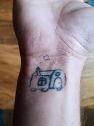 Try Lefthand Selfmade Tattoo On Right Hand Shittytattoos