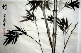 paint watercolor bamboo free picture