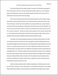 germinal essay the industiral revolution and it s impact on coal germinal essay the industiral revolution and it s impact on coal miners the