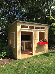 jen built a playhouse a year ago using simpson strong tie connectors then she blogged about it and included a set of easy to follow plans with a detailed