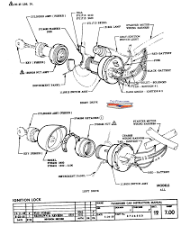 Ignition switch wiring diagram chev