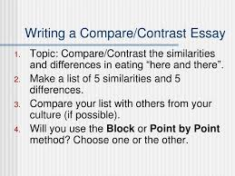 Ppt Compare Contrast Essays Powerpoint Presentation Id 522097