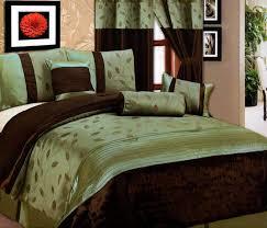 sage green comforter sets splendid and brown 8136 with set king regarding decor 4