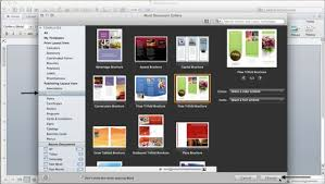 Brochure Software Mac Brochure Design Software Mac Brochure Maker ...