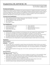 Family Nurse Practitioner Resume Examples Best Family Nurse Practitioner Resume Examples 24 Resume 5