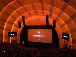 Radio City Music Hall Section 2nd Mezzanine 2 Row A Seat 211