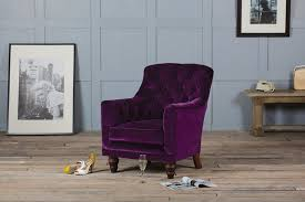 tufted glove velvet chair by authentic