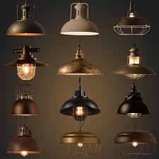 vintage industrial lighting fixtures. Vintage Industrial Lighting 15020 Copper Lamp  Holder Metal Pendant Light American Aisle Lights Fixtures T