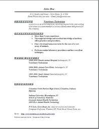 Nurse Tech Job Description Resume – Foodcity.me