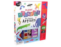 Super Stencils - Complete Set Gifts | Age 5 Buy Toys for 5-Year-Old Girls