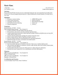 9 10 Social Worker Resume Samples Resumesgood