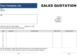 Free Price Quote Templates Invoiceberry