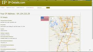Diagnosing Geographical Location Ip Address