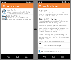 Sign In App Building Apps With Aws Mobile Hub Adding User Sign In And Data