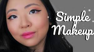 tutorial simple everyday monolid makeup j wong