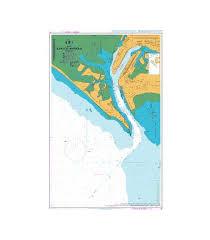 British Admiralty Nautical Chart 40 Karachi Harbour