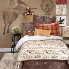 Kids Bedroom Bedding Boy Children Kid Cowboy Horse Western Twin Full Queen Duvet Cover