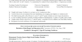 Teachers Sample Resume Education Sample Resumes Professor Resume ...